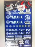 4MX Yamaha sticker set